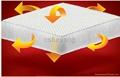 100%涤纶透气网眼床垫 5