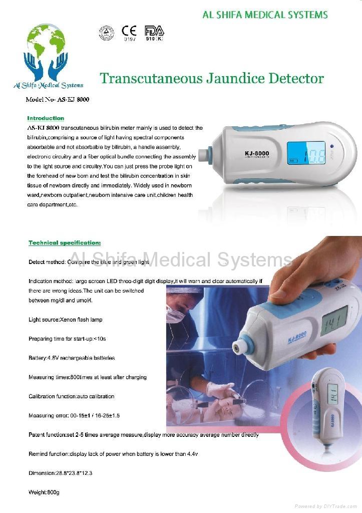 Jaundice Meter - AS-KJ8000 - Al Shifa Medical Systems ...  Jaundice Meter ...