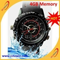 4GB waterproof Watch mini dv Camera