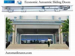 [MW]90 economic automatic sliding doors,