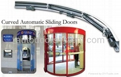 [MW] curved automatic sliding doors
