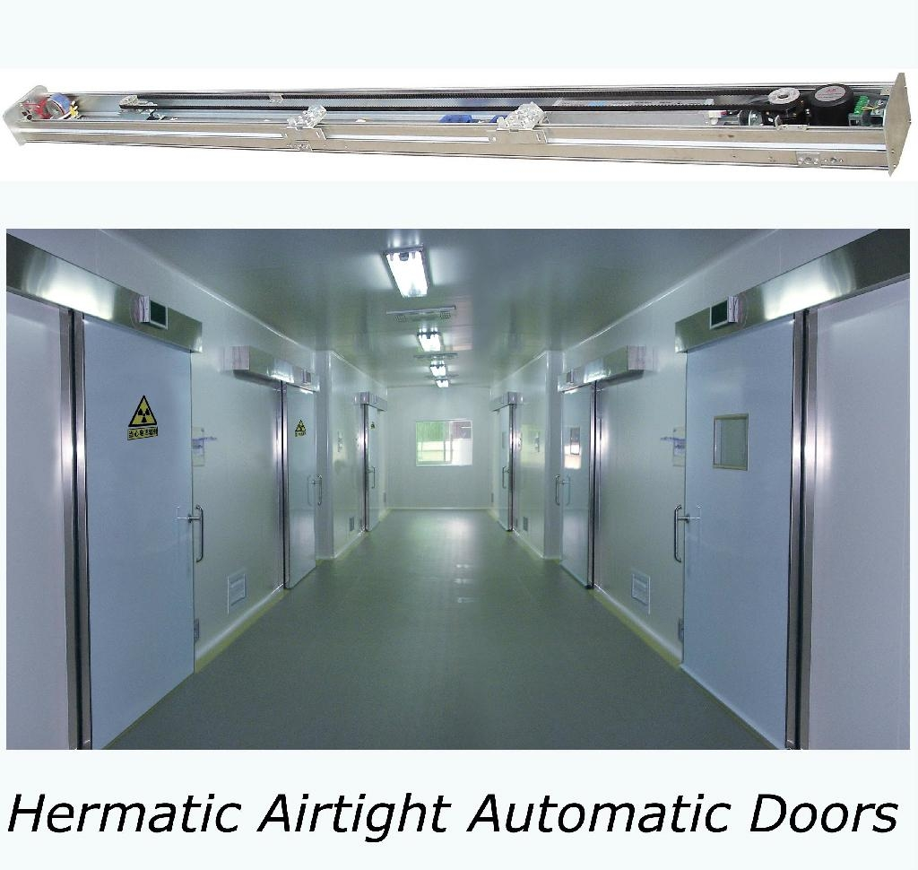 [MW] Hospital cleanroom hermetic sealed airtight sliding doors 1