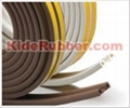 EPDM foam adhesive backed door weatherstrip seal