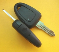 New style Fiat remote car key shell 1 button