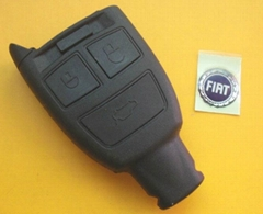 Fiat 3 buttons remote blank car key case