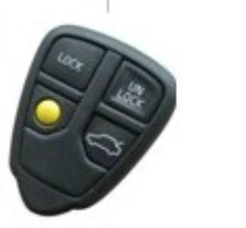 Vovlo 4 buttons car key remote case 1