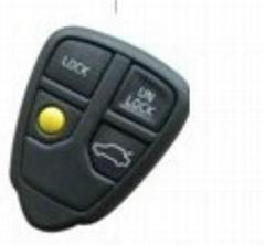 Vovlo 4 buttons car key remote case