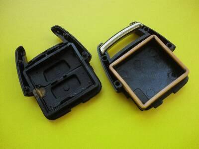 Opel Vauxhall 2 button remote case car key shell no logo 2