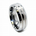 tungsten ring with diamond