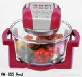 12L multifunctional glass cooker halogen