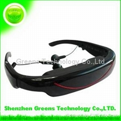 Portable Video Glasses GVG320LI LCD Display Support Video Music Picture E-book