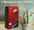heavy textile wallpaper glue powder