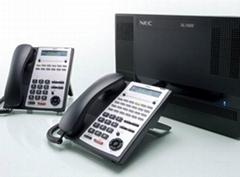 武漢進口集團電話NEC SL1000-8外線32分機