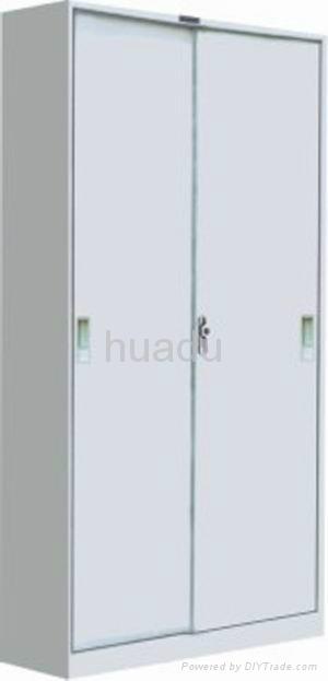 KD steel heavy-duty storage cabinet with sliding door  1
