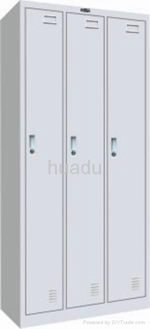 KD steel single-tier triple-wide gym locker,school locker,soccer locker 1