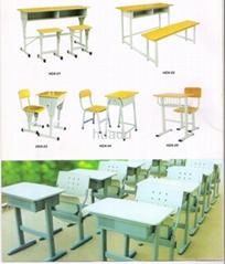 various kind school furniture