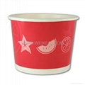 16oz Fruit Printing Ice Cream Paper Cup