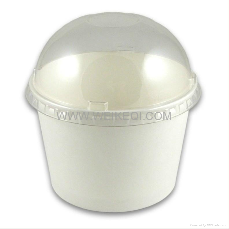 Sweet Paper Cup with dome lid 1