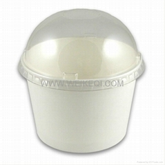 Sweet Paper Cup with dome lid