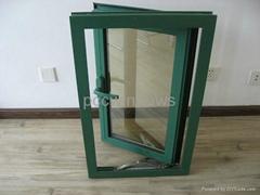 aluminum hinged windows