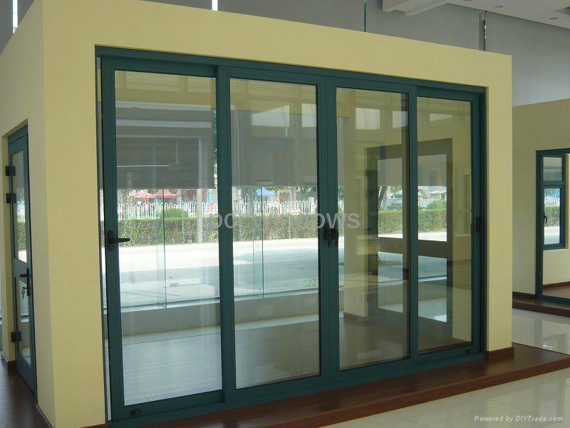 China Good Quality Aluminum Patio Sliding Door Wd 4007