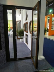 China good quality aluminum French door/casement door
