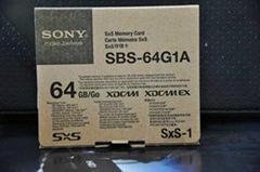 Sony SXS SBS-64G1A高速存储卡视频存储卡