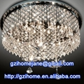 low voltage crystal ceiling lamp modern