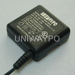 Mini USB Charger with Folding Function and Common Plug