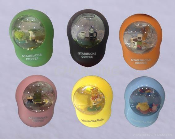 Fashion liquid magnet memo stand/paper clip for promotion gift,souvenirs,decorat 1