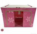 Home fabric storage box in oxford fabric 1