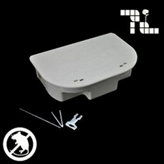 Reusable rodent bait station