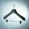 Luxury wooden hanger for garment 2