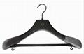 Luxury wooden hanger for garment 4