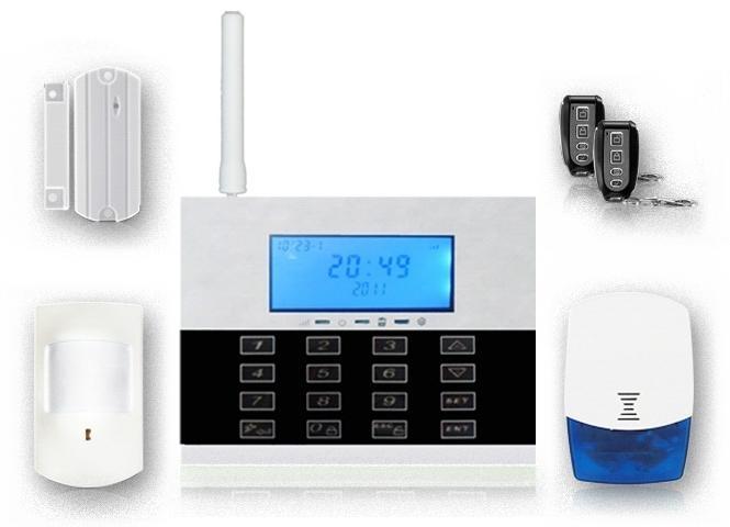 Security 868MHz, Touch keypad LCD Display Burglar Alarm FS-AM231 1
