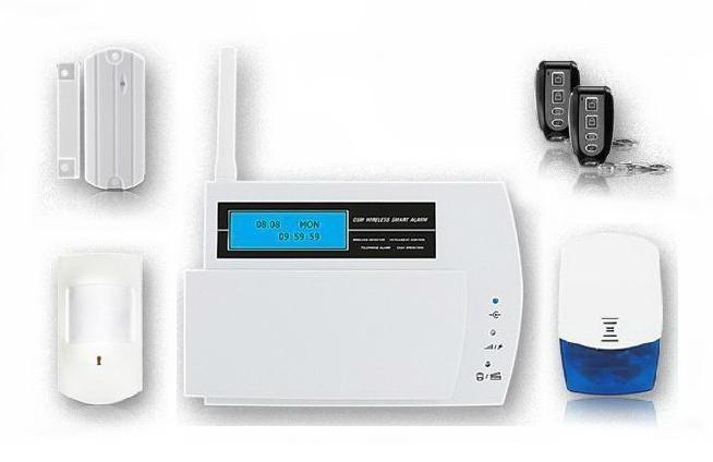 LCD Display Wireless GSM Itruder Alarm System FS-AM211 1