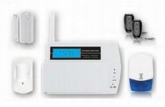 LCD Display Wireless GSM Itruder Alarm System FS-AM211