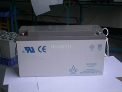 12V150AH 路灯太阳能储能系统铅酸蓄电池