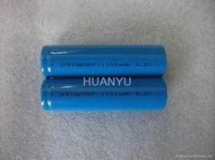 IFR18650 1100mAh 3.2V电动工具锂电池