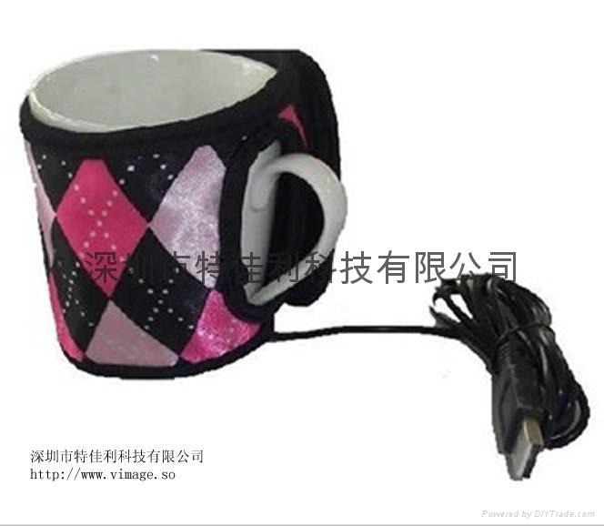 USB发热潜水料杯套 1