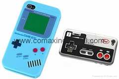 Fashion game boy silicone phone case for iPhone