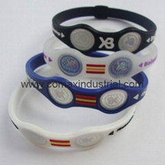 Popular silicone XB balance bracelet