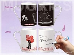 Greeting card mug
