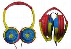 多彩折叠耳机