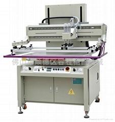 半自動精密平面絲網印刷機