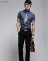 Luxury Business Mens Slimming Dress Shirt 1