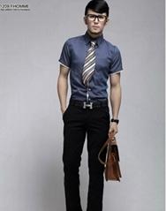Luxury Business Mens Slimming Dress Shirt