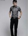 Luxury Business Mens Slimming Dress Shirt 3