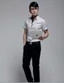 Luxury Business Mens Slimming Dress Shirt 5