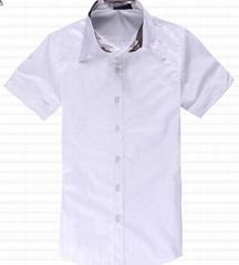 New Stylish Mens Short Sleeves Dress Shirt